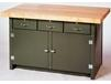 THREE DRAWER CABINET WORK BENCH