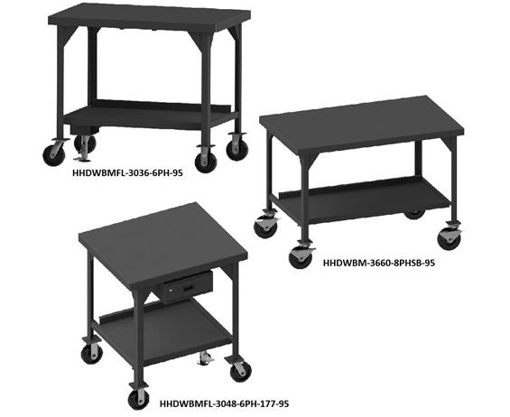 MOBILE HEAVY DUTY WORKBENCHES