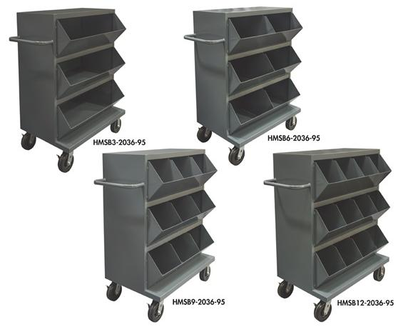 DURHAM MOBILE STORAGE BINS