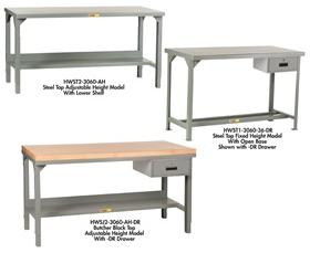 ALL-WELDED WORKBENCHES