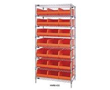DIVIDERS FOR STACKABLE SHELF BINS